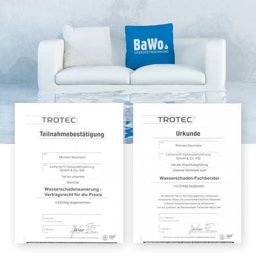 Gebäudetrocknung Berlin zertifiziertes unternehmen bei wasserschäden für berlin und brandenburg